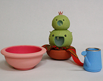 CACTI | 3D Art Toy