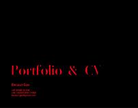 Portfolio & CV | Becauz