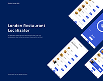London Restaurant Localizator