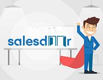 Salesdoor - Animated Motion Graphics Explainer Video