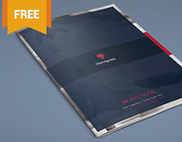 The Harmony - Free Brand Book Template