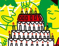 40 años Bazurto - Colaboración