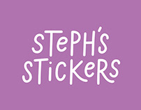 Steph's Stickers Branding