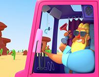 Trucker Desert Party Cruise