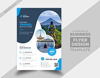 Travel Agency Flyer Design Template