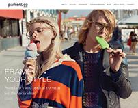 Parker & Co. Website