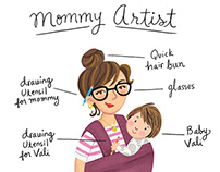 Mommy Artist Promotional Piece