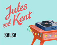 Jules and Kent Salsa Packaging