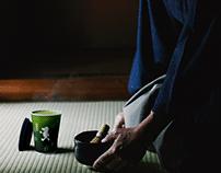 cama café ✕ TSUJIRI MATCHA Visual Identity Design