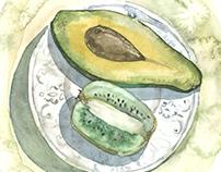 Gastronomy sketch