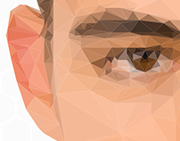 POLYGON FACE // ILLUSTRATION
