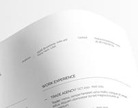 Clean Resume+