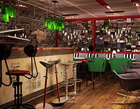 Project Red doors bar
