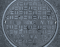 "Covers para ""I'll take New York"" de Tom Waits"