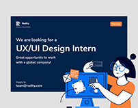 UX/UI Intern Wanted!