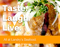Landry's Seafood - Mobile Site