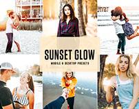 Free Sunset Glow Mobile & Desktop Lightroom Presets