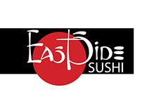 EastSide Sushi- Logo and Menu Design