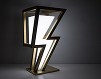 Thunder Bolt Lamp