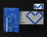 Mepicom - Brand logo & identity