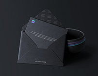 Envelope & Bowl Branding Mockup