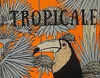 """Édition poster livre """"Tropicale"""""""