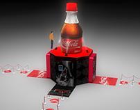 Stand Degustador Coca Cola