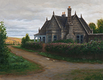 NORTH SEA HOUSE - oil Scottish Highlands