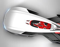 Volkswagen XE Vision Gran Turismo / My part of the work