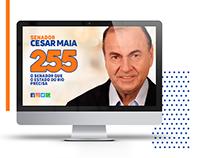 Website Cesar Maia candidato ao Senado | Eleições 2018