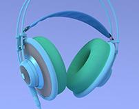AKG headphones color play