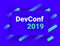 DevConf 2019 | UI & conference visual identity