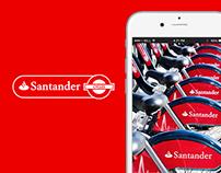 Santander Cycles App Redesign