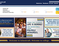 Schoolcraft College Website Redesign Research