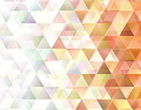 FREE Vector: Triangle Polygon Background with Opacity