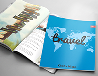 Print Design | Orbridge Travel Catalog