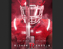 2016 Rutgers Football Season Poster