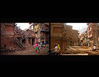 Nepal Earthquake - Before and After, Kathmandu