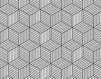 Hexagon Geometric Pattern – Vector