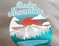 Rocky Mountain Race Shirt Design