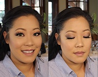 Nicole Bridesmaid Makeup