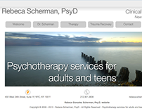 Rebeca Scherman, PsyD Psychotherapy services New York