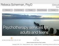 Rebeca Scherman, PsyD Psychotherapy services New York