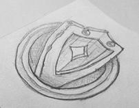 Shield icon sketch