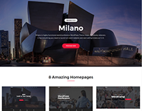 Milano - Conference & Event WordPress Theme