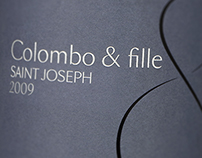 Colombo & Fille Wine Label