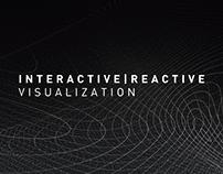 An interactive, reactive visualization.