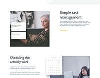 Team App website