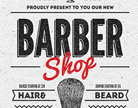 Barber Shop Flyer/Poster