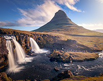 The falling beauties - Iceland